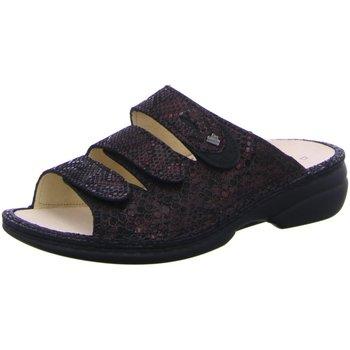 Schuhe Damen Pantoffel Finn Comfort Pantoletten 02554-901541 schwarz