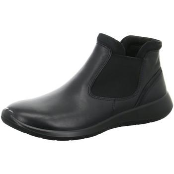 Schuhe Damen Boots Ecco Stiefeletten  SOFT 5 283103/53859 schwarz