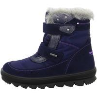 Schuhe Jungen Schneestiefel Superfit Klettstiefel . blau