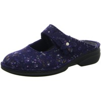 Schuhe Damen Hausschuhe Finn Comfort 06560-570046 blau
