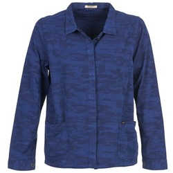 Kleidung Damen Jacken / Blazers Lee CAMO Blau