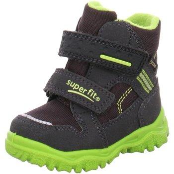 Schuhe Jungen Boots Superfit Klettstiefel 09044-20 grau