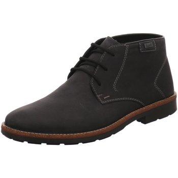 Schuhe Herren Boots Rieker 35310-45 schwarz