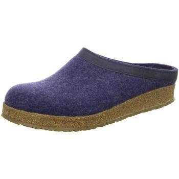 Schuhe Herren Hausschuhe Haflinger Grizzly Torben 713001-72 jeans blau