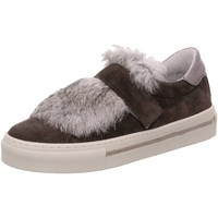 Schuhe Damen Slip on Alpe Slipper 3286 grau