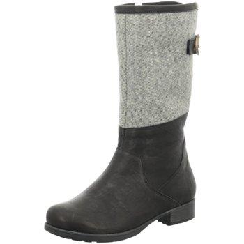 Schuhe Damen Stiefel Think Stiefel Denk 81009-09 schwarz