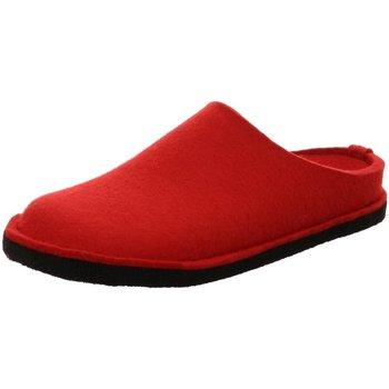 Schuhe Damen Hausschuhe Haflinger Flair Soft,rubin 311010 11 rot