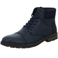 Schuhe Herren Boots Rieker F5524-15 blau