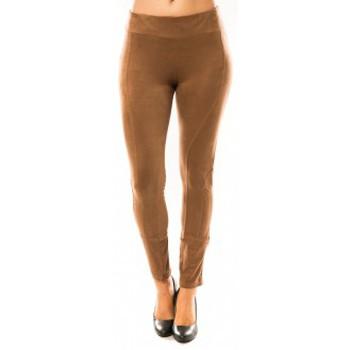 Kleidung Damen Leggings Sweet Company Pantalon Décontract Taupe Braun