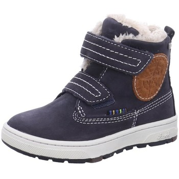Schuhe Mädchen Schneestiefel Lurchi Klettstiefel Diego Tex Winterboot 33-13509-22 blau