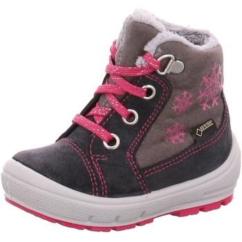 Schuhe Mädchen Schneestiefel Superfit Maedchen grau