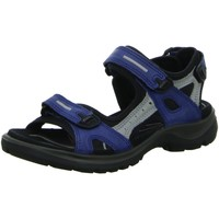 Schuhe Damen Sportliche Sandalen Ecco Sandaletten Sandalette OFFROAD 069563 57807 blau