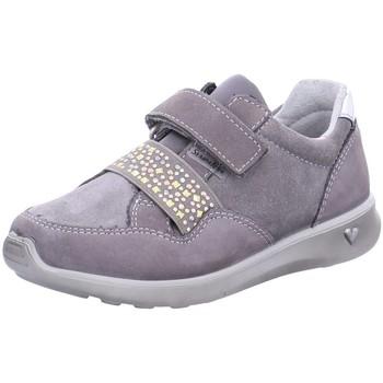Schuhe Mädchen Sneaker Low Ricosta Klettschuhe MILANA 66 5821600/456 grau