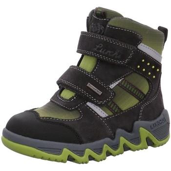 Schuhe Jungen Boots Salamander Klettstiefel NV 33-29308-25-Sasha grau