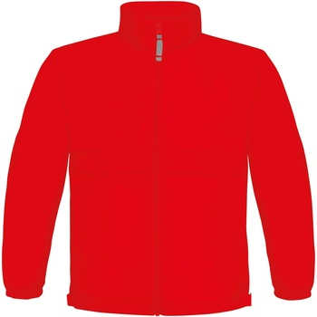 Kleidung Kinder Fleecepullover B And C Sirocco Rot