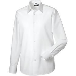 Kleidung Herren Langärmelige Hemden Russell 922M Weiß