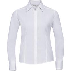 Kleidung Damen Hemden Russell 924F Weiß