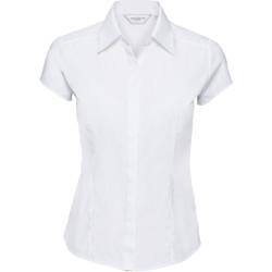 Kleidung Damen Hemden Russell 925F Weiß