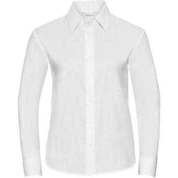 Kleidung Damen Hemden Russell 932F Weiß
