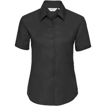 Kleidung Damen Hemden Russell 933F Schwarz