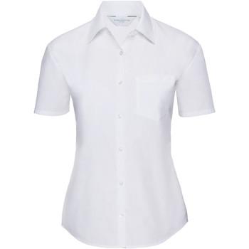 Kleidung Damen Hemden Russell 935F Weiß