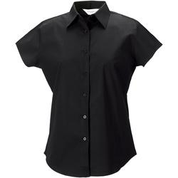 Kleidung Damen Hemden Russell 947F Schwarz