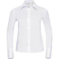 Kleidung Damen Hemden Russell Ultimate Weiß