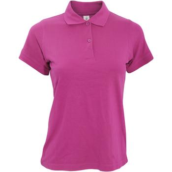 Kleidung Damen Polohemden B And C PW455 Fuchsie