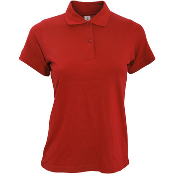 Kleidung Damen Polohemden B And C PW455 Rot