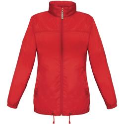 Kleidung Damen Windjacken B And C JW902 Rot