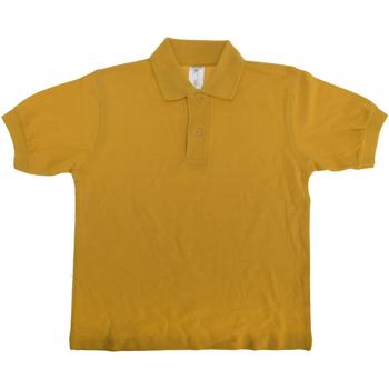Kleidung Kinder Polohemden B And C PK486 Gold
