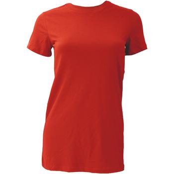 Kleidung Damen T-Shirts Bella + Canvas BE6004 rot