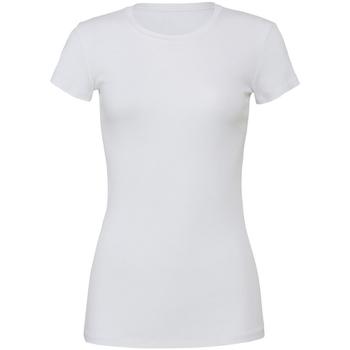 Kleidung Damen T-Shirts Bella + Canvas BE6004 weiß
