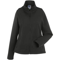 Kleidung Damen Fleecepullover Russell R040F schwarz