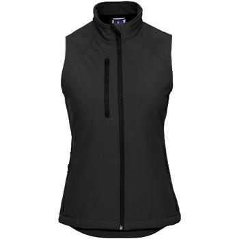 Kleidung Damen Strickjacken Russell R141F schwarz