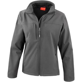 Kleidung Damen Fleecepullover Result R121F Grau