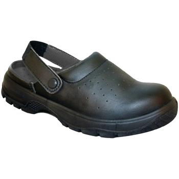 Schuhe Damen Pantoletten / Clogs Dennys DK41 Schwarz