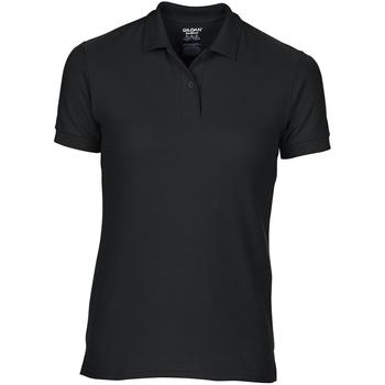 Kleidung Damen Polohemden Gildan 75800L Schwarz