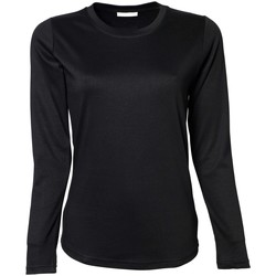 Kleidung Damen Langarmshirts Tee Jays TJ590 Schwarz