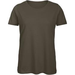 Kleidung Damen T-Shirts B And C TW043 Khaki