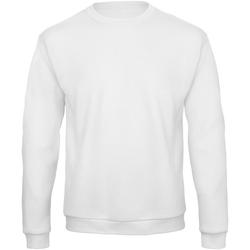 Kleidung Sweatshirts B And C ID. 202 Weiß