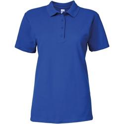 Kleidung Damen Polohemden Gildan 64800L Königsblau