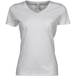 Kleidung Damen T-Shirts Tee Jays TJ5003 Weiß