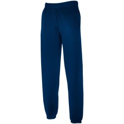 Kleidung Herren Jogginghosen Fruit Of The Loom 64026 Marineblau