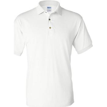 Kleidung Herren Polohemden Gildan 8800 Weiß