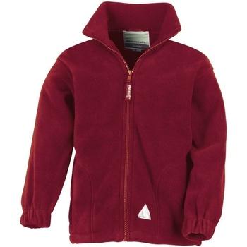 Kleidung Kinder Fleecepullover Result R36JY Burgunder