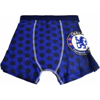 Unterwäsche Jungen Boxer Chelsea Fc  Blau