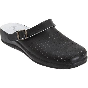 Schuhe Damen Pantoletten / Clogs Dek Swivel Schwarz