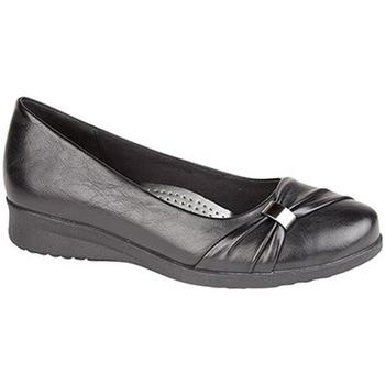 Schuhe Damen Ballerinas Boulevard  Schwarz