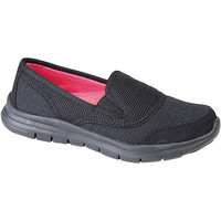 Schuhe Damen Slip on Dek  Schwarz